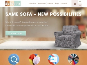 Soferia the best covers for IKEA sofas